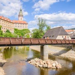 Most nad rzeką Wełtawą